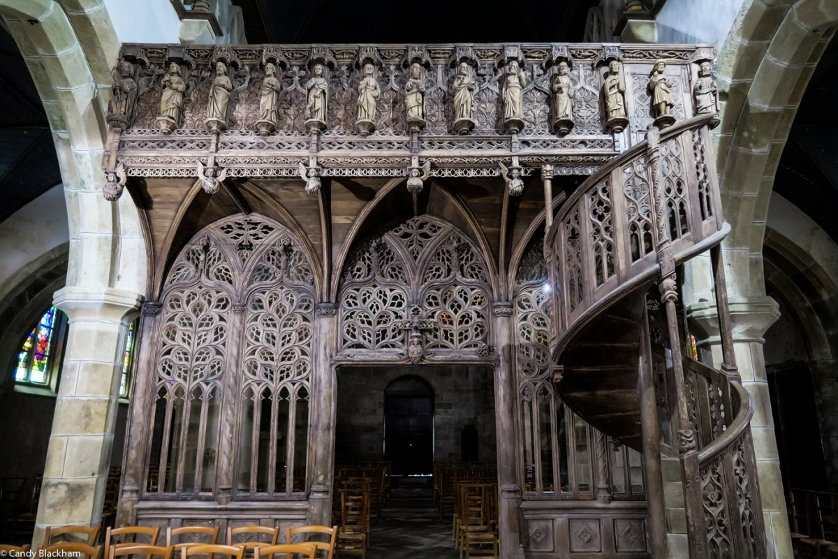 The Rood Screen in Notre-Dame de Lambader