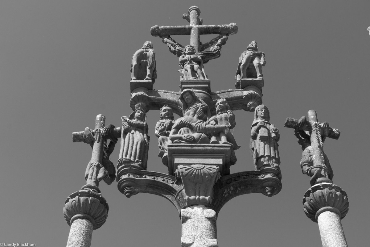 The main calvary at St Thegonnec