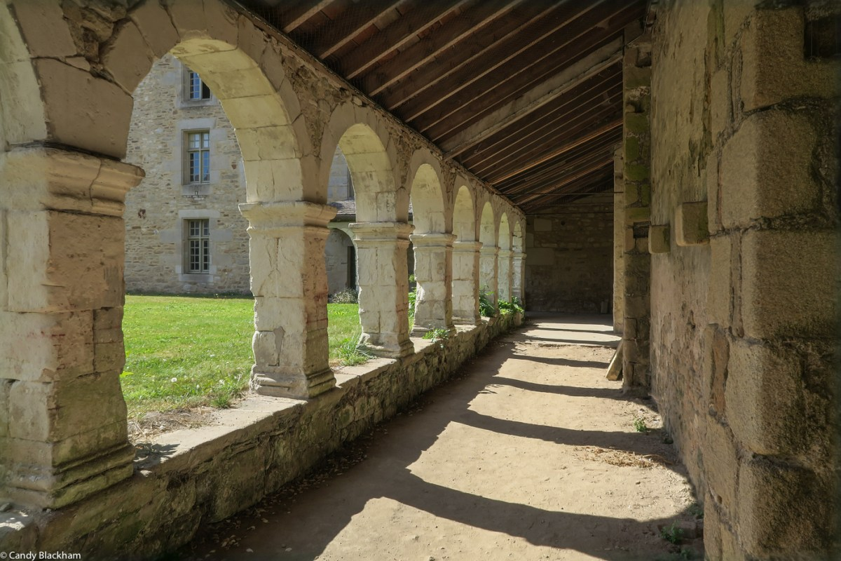 The Cloister of the Church of Locmaria