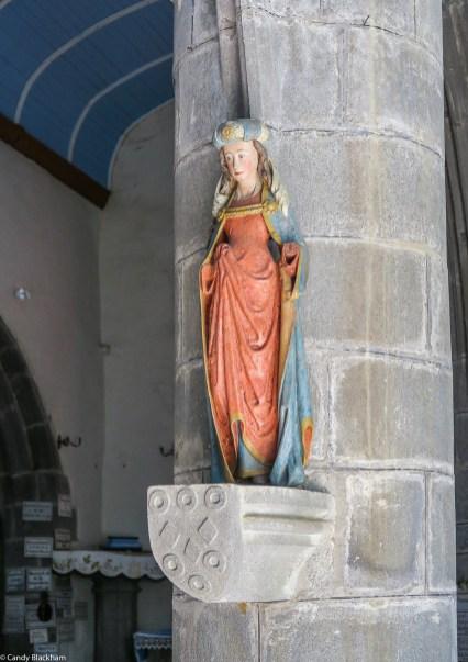 Saint Barbara, 16C