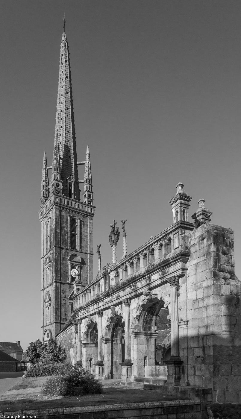 The Bell Tower & Triumphal Arch, the Church of St Suliau, Sizun