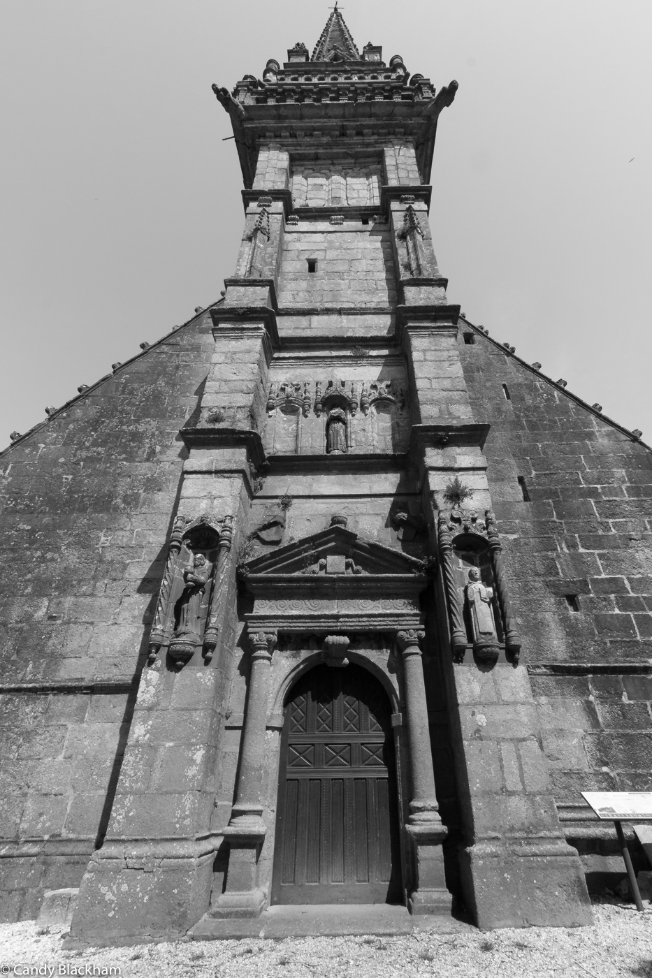 The Bell Tower of the Church of St Yves, La Roche-Maurice