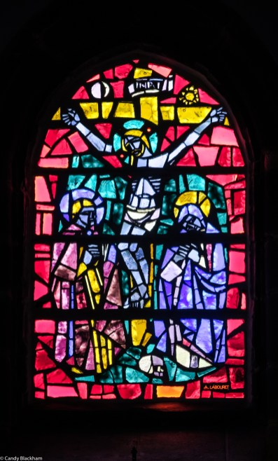 Stained glass, Auguste Labouret, 1955