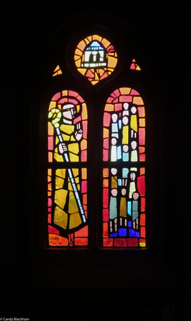 Stained glass, Le Bihan Studio, 1965