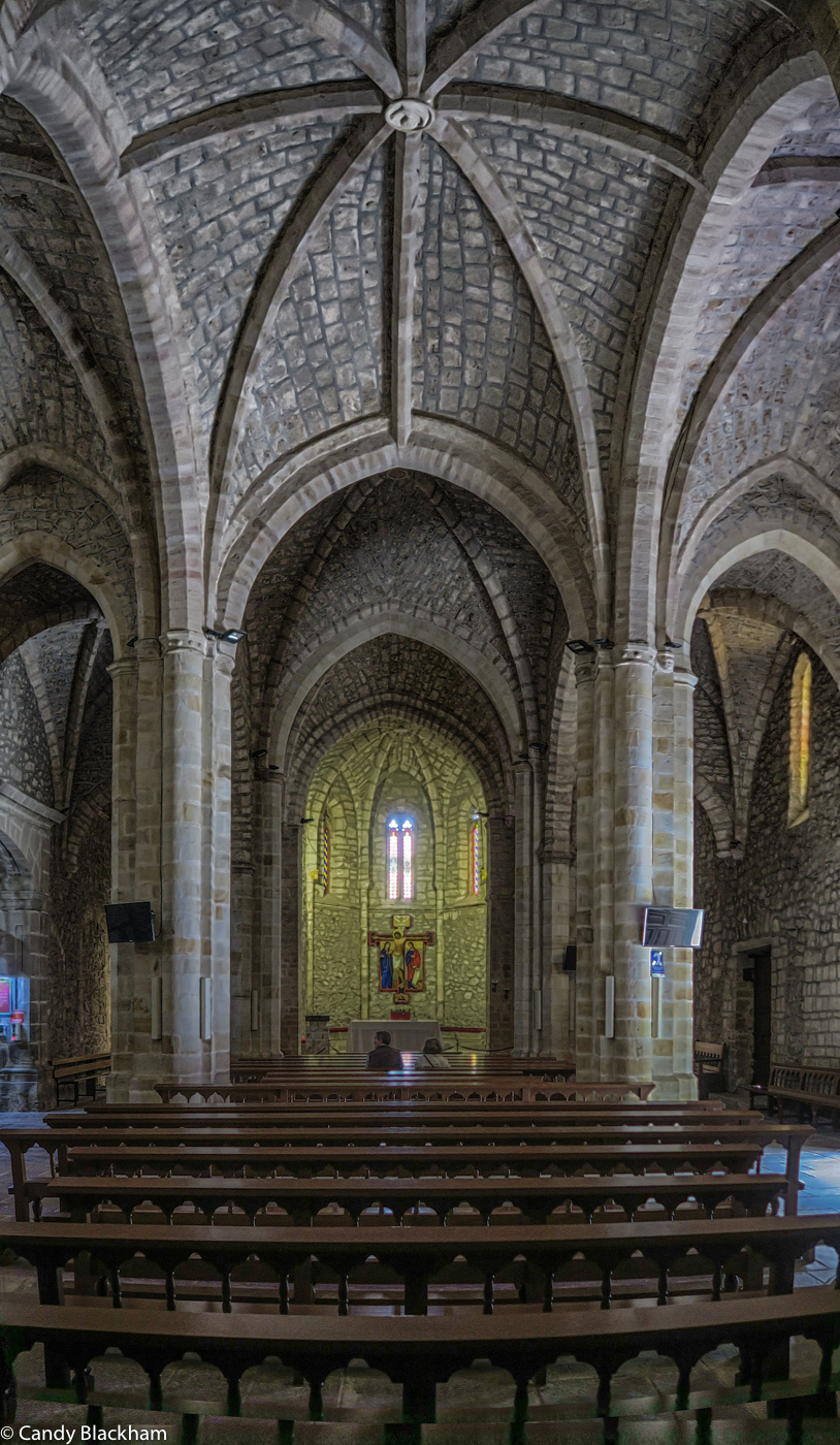 The interior of the Church at the Monastery of San Toribio
