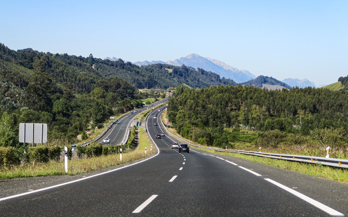 The road from Santander to Potes