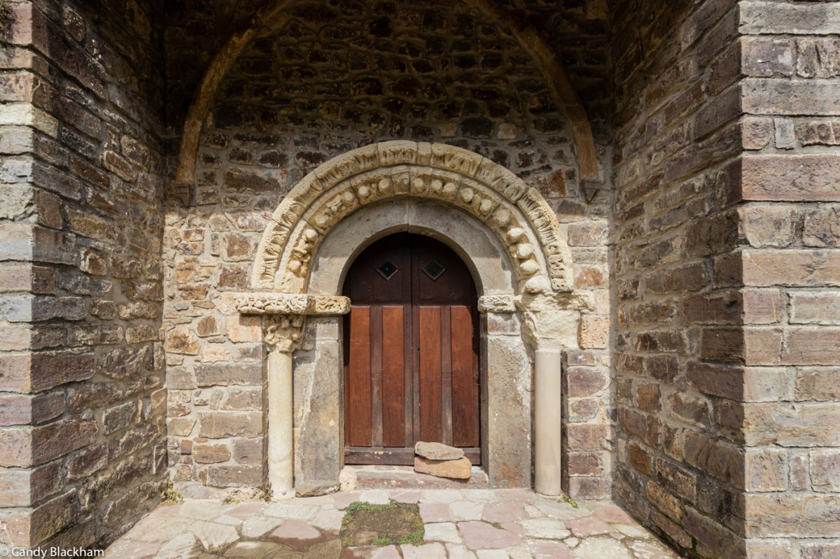 Romanesque Church doorway