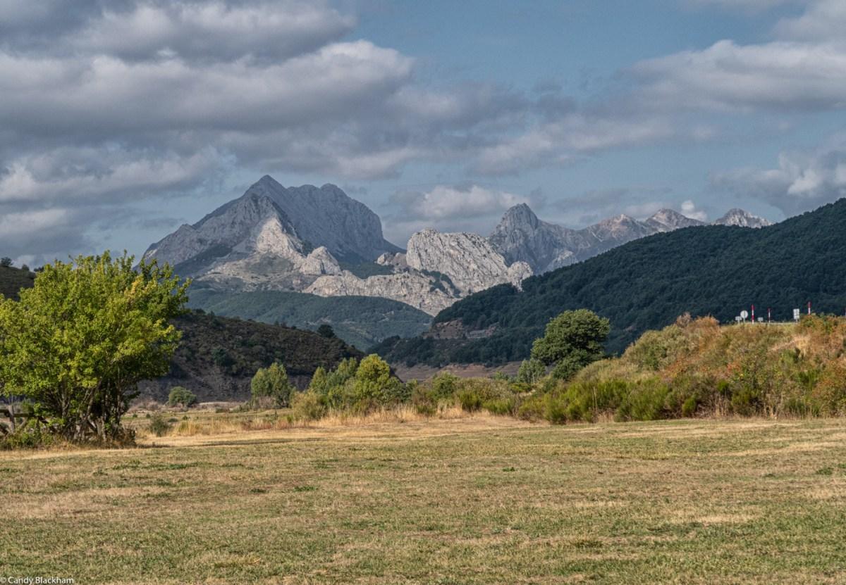 The Picos de Europa beyond Boca de Huergano