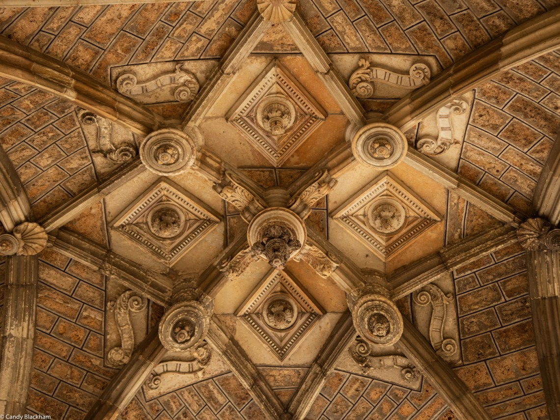 Ceiling in the Cloister of Leon Cathedral
