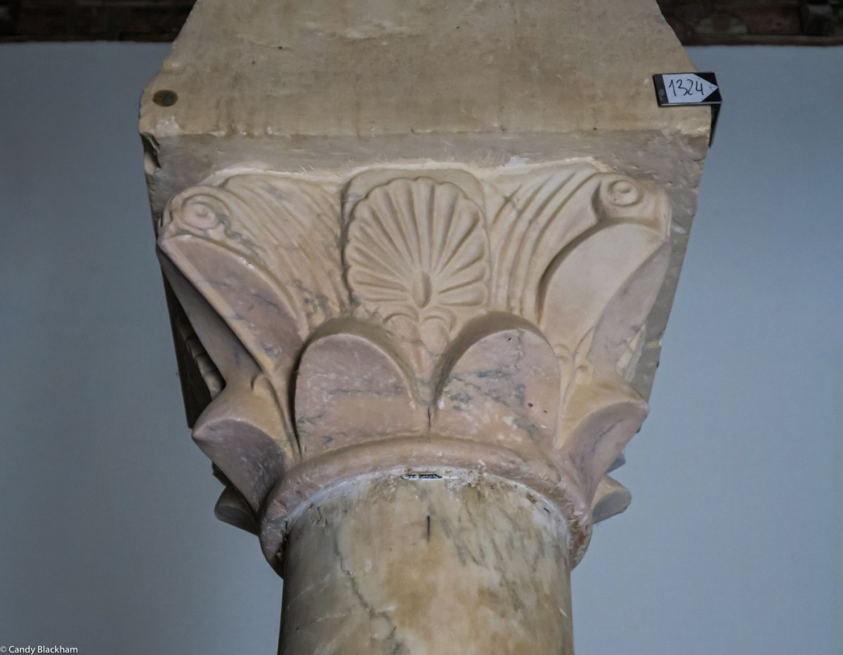 Carved capitals