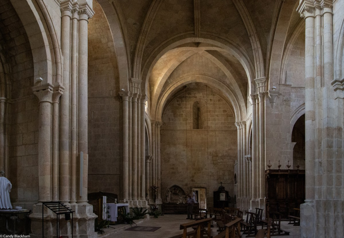The transept of Santa Maria de Sandoval