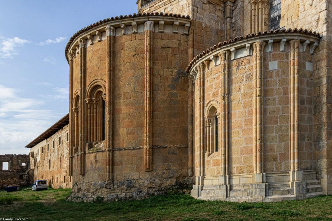 The apse of Santa Maria de Sandoval