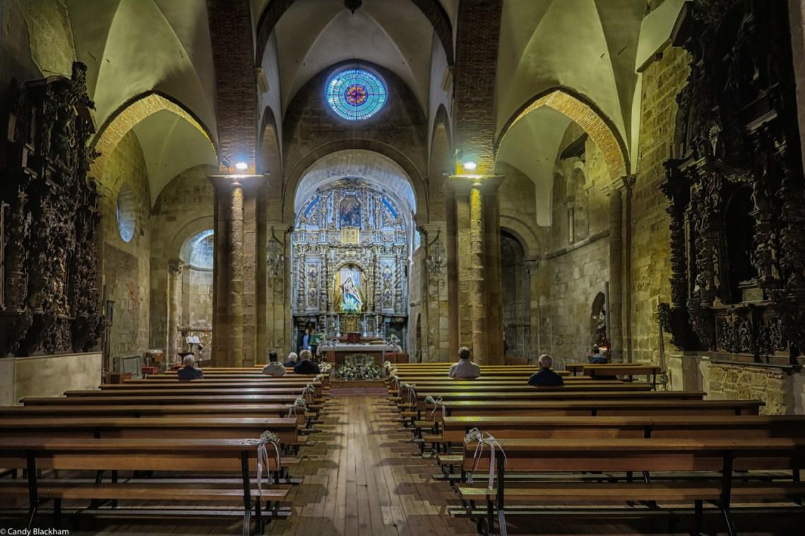 The interior of Nossa Senora del Mercado