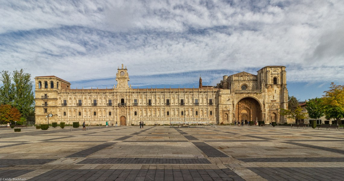 The Parador in Leon