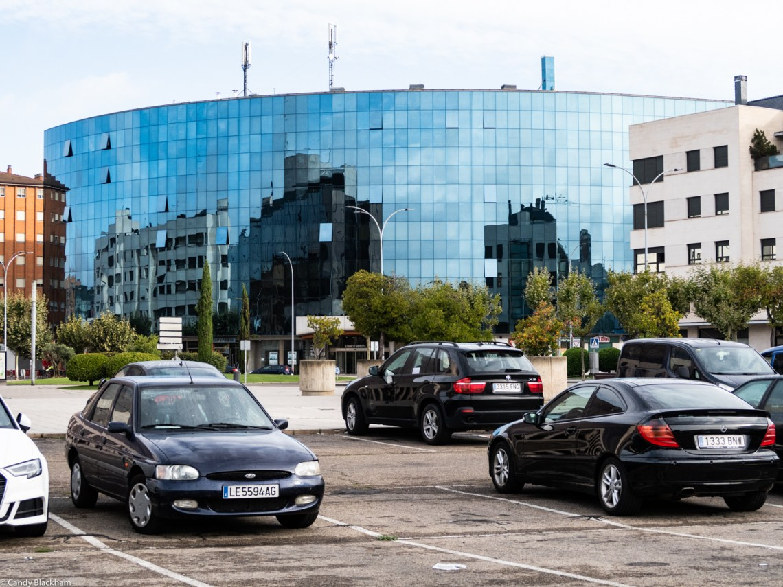 The Edificio Europa in Leon