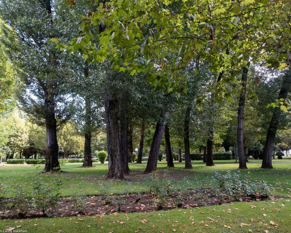 The Quevedo Park in Leon