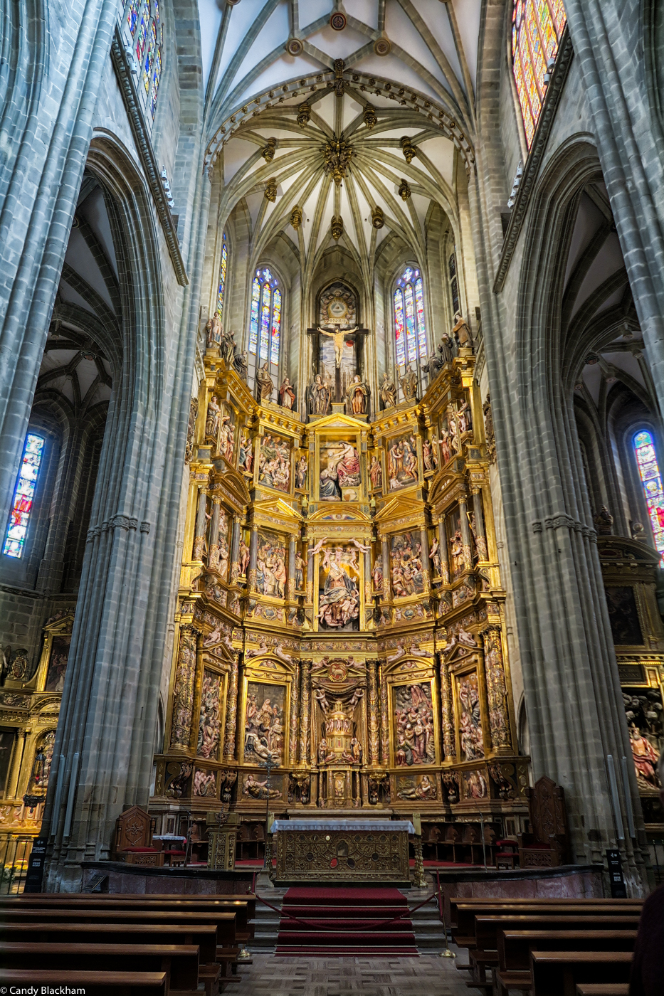 The High Altar of the Cathedral in Astorga