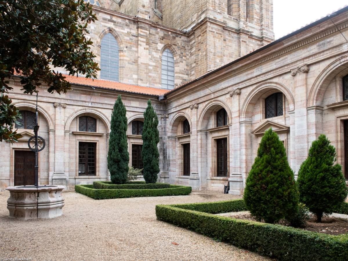 The Cloister of the Cathedral in Astorga