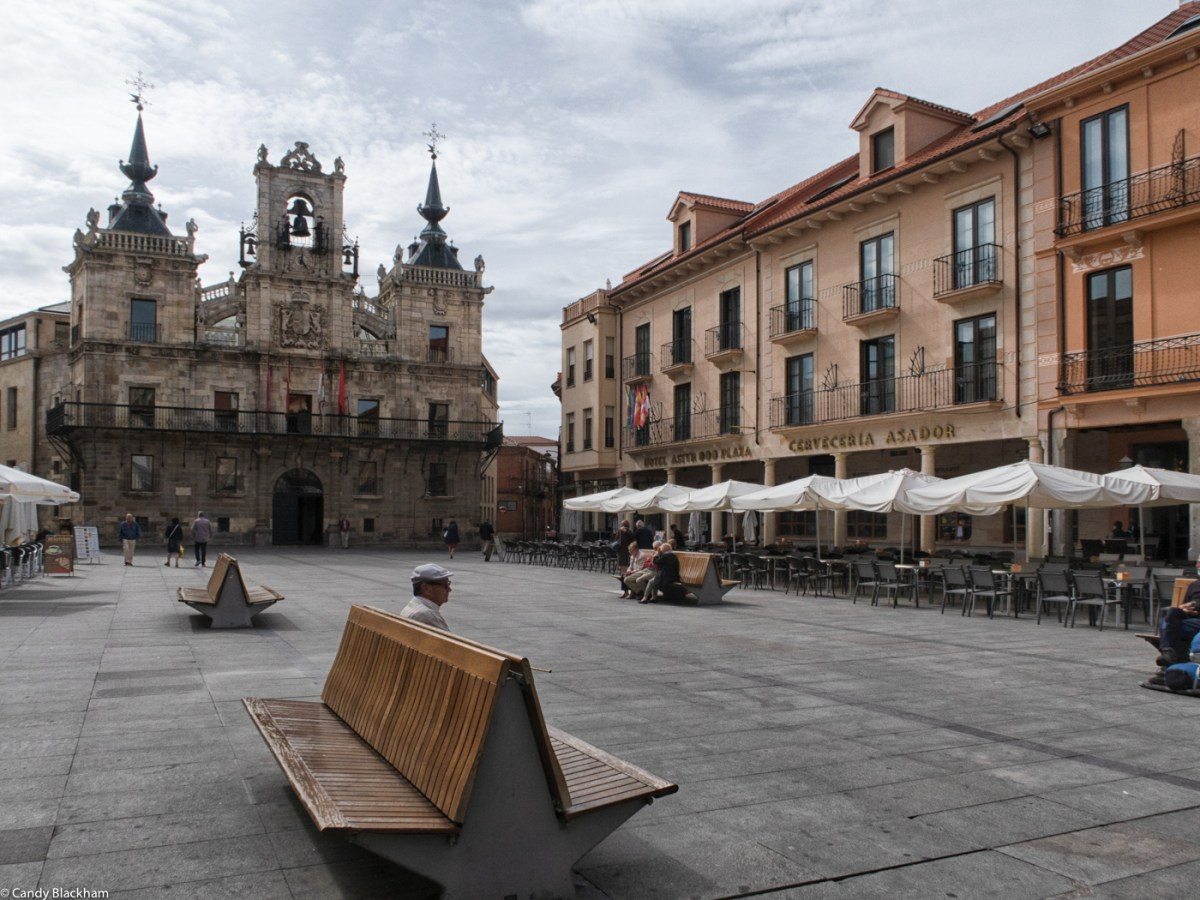 The Plaza Mayor with the 17C Town Hall