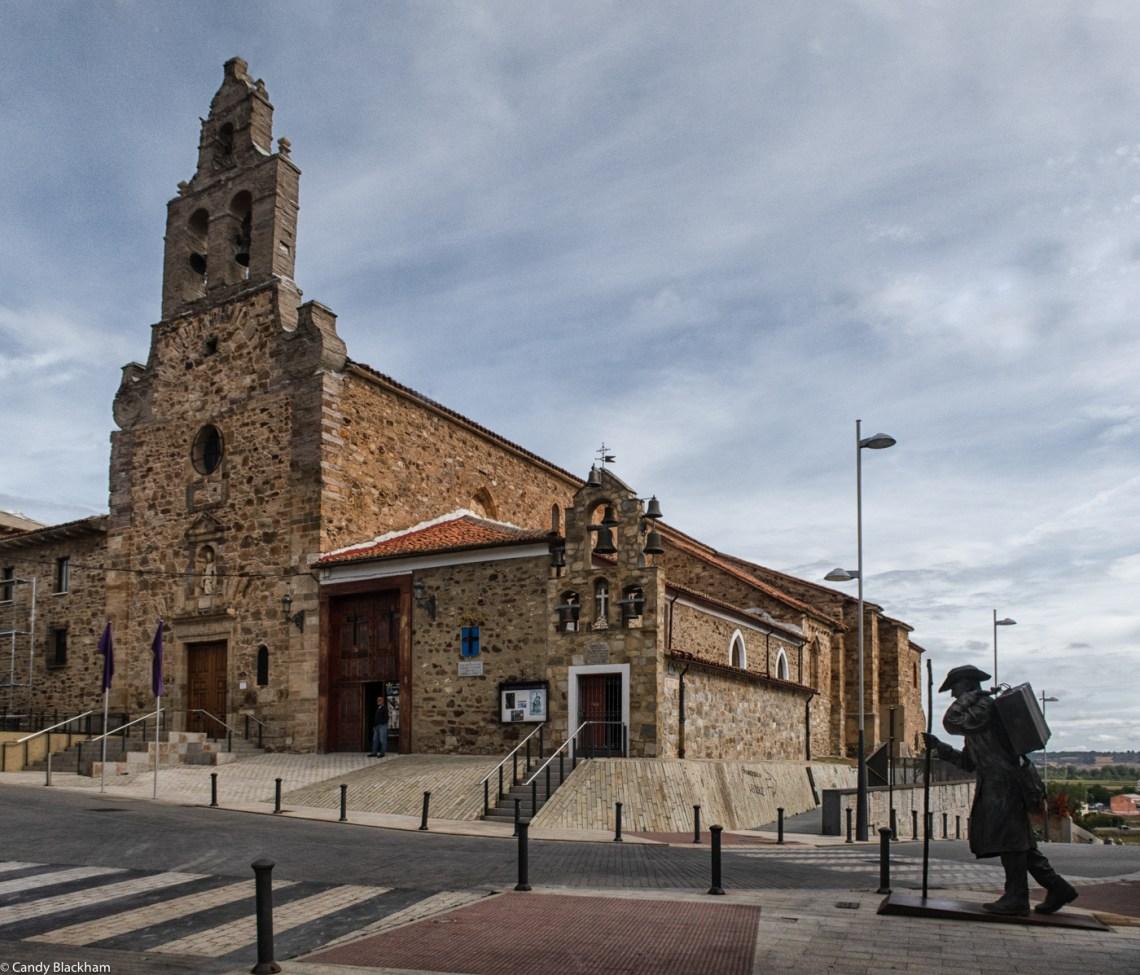 The Church of San Francisco, and the small Chapel of Santa Vera Cruz in Astorga
