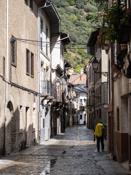 Pilgrim on the Camino de Santiago