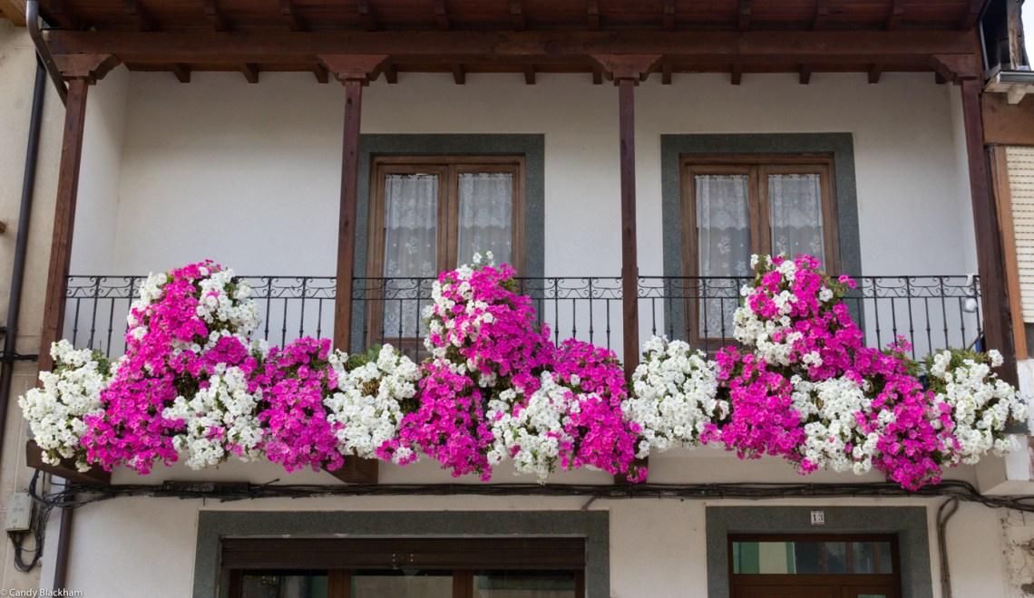 Window boxes in Villafranca