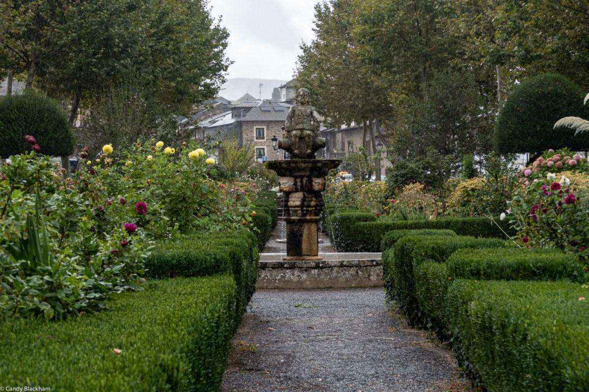 Gardens in Villafranca