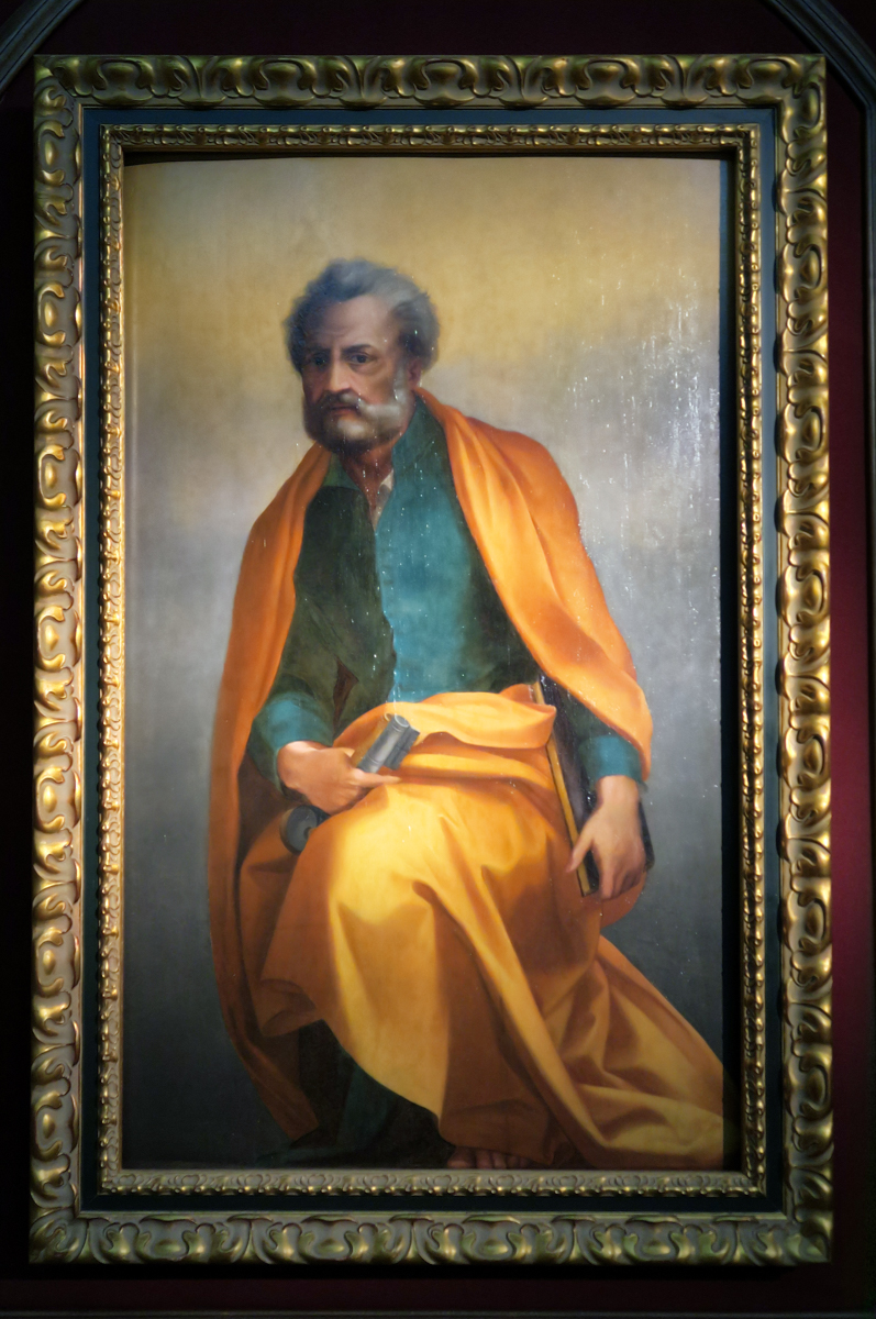 St Peter by Andrea del Sarto in the art gallery