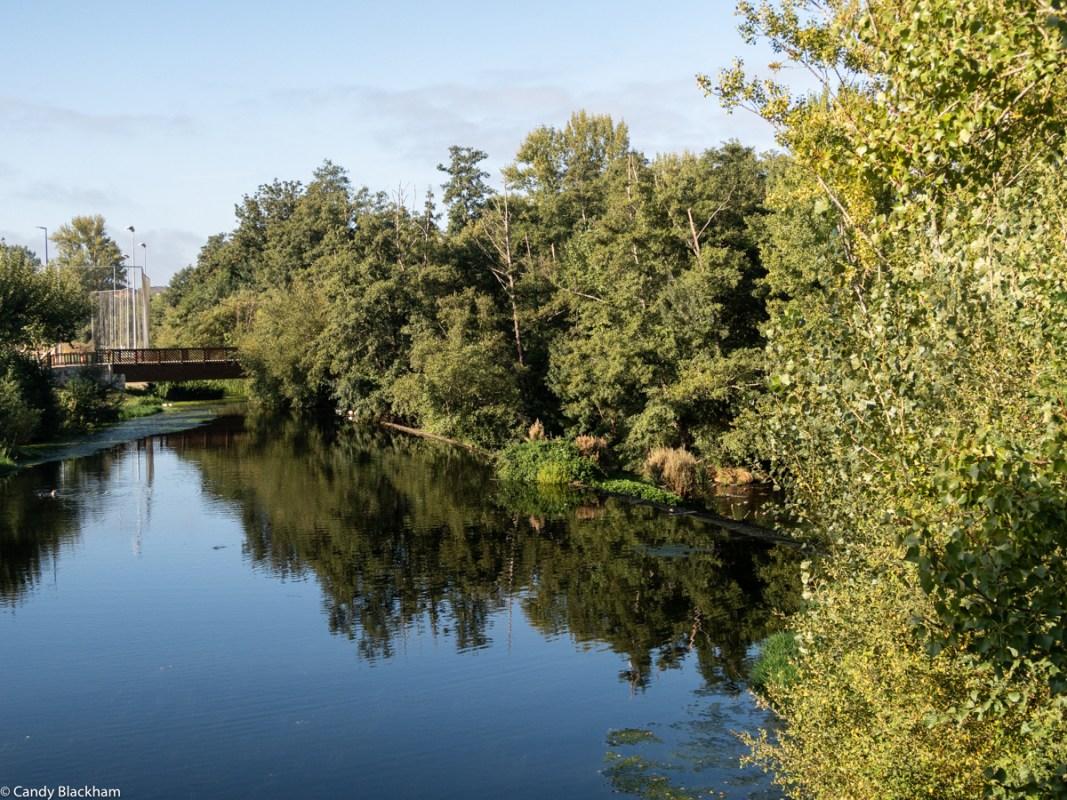 River Cabe in Monforte de Lemos