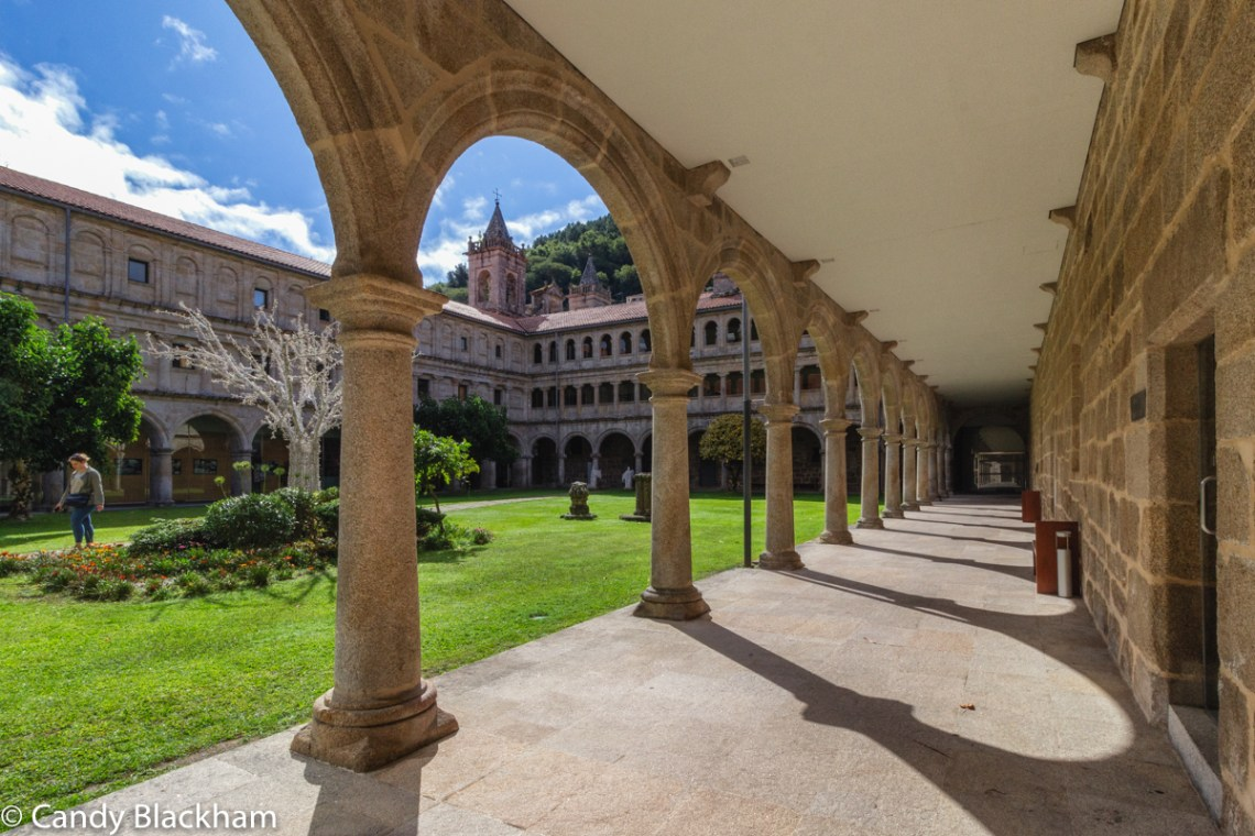 The KNights Cloister in San Estevo de Ribas de Sil
