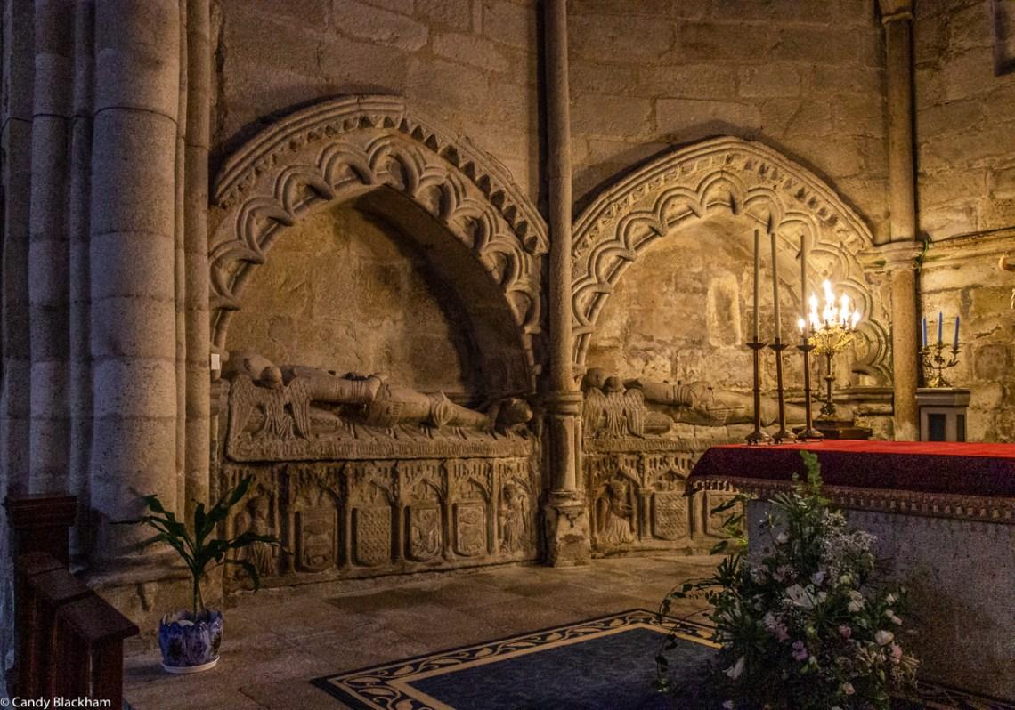 Tombs in the Church of San Pedro