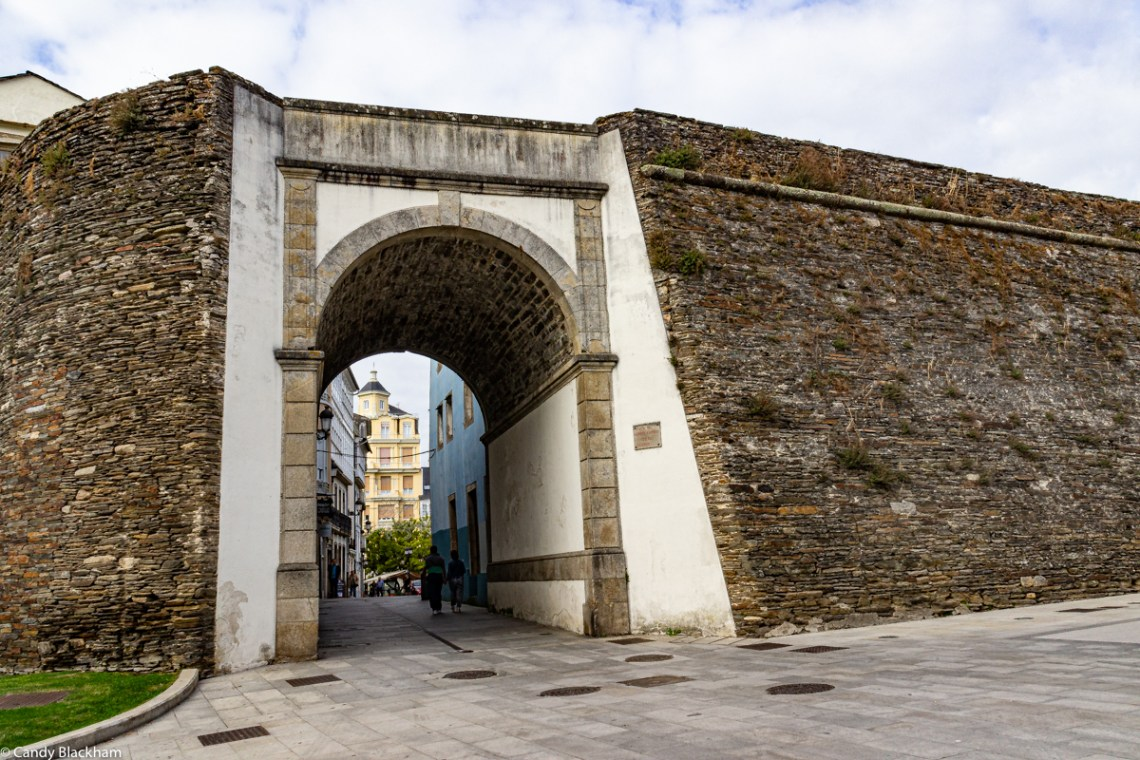 Campo Castelo Gate in the Roman Walls of Lugo