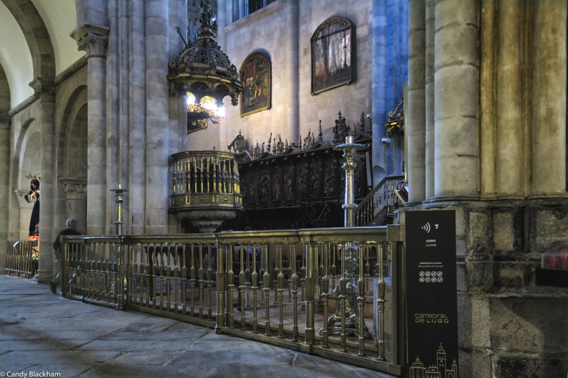 Choir in Lugo Cathedral