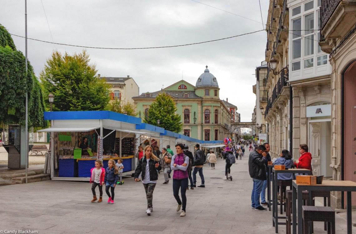 Plaza Mayor in Lugo