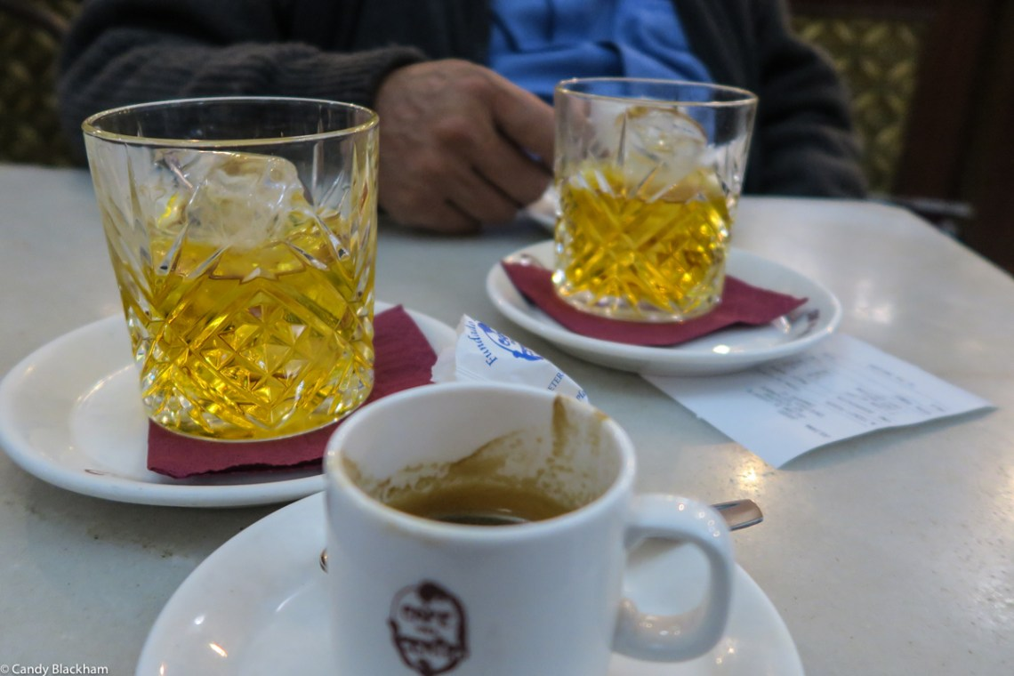 Coffee and Liqueurs