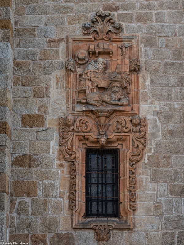 Coat of Arms on the Cathedral in Mondonedo