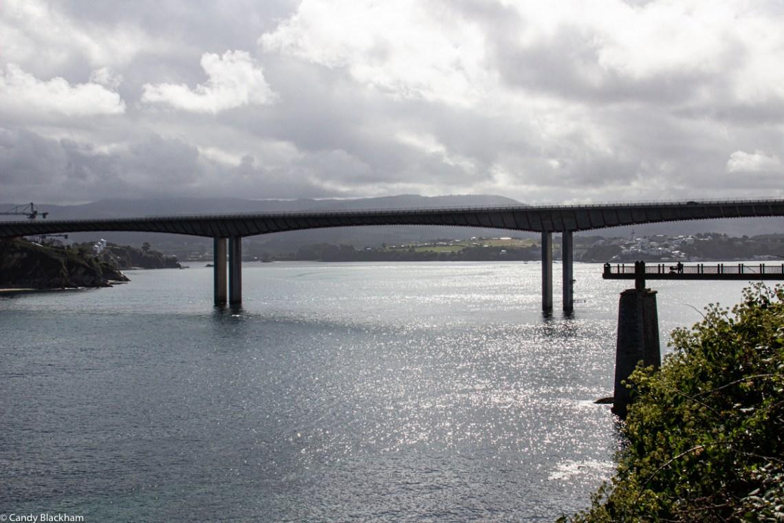 Os Santos Bridge over the River Eo