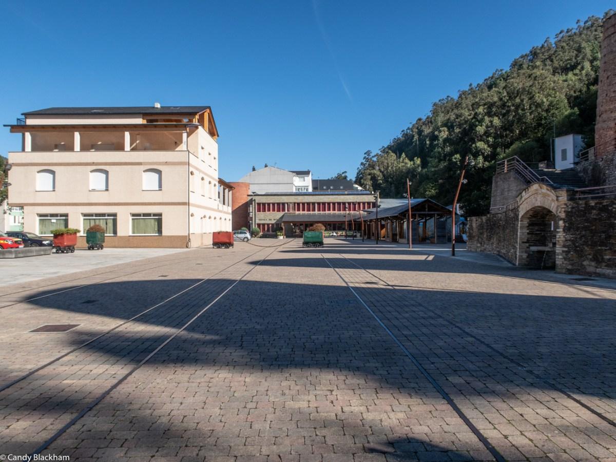 Railhead at Pontenova