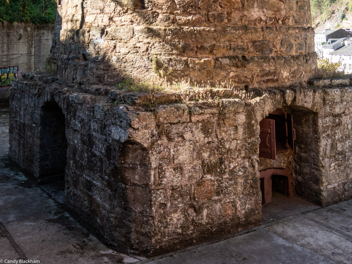 Base of the furnaces