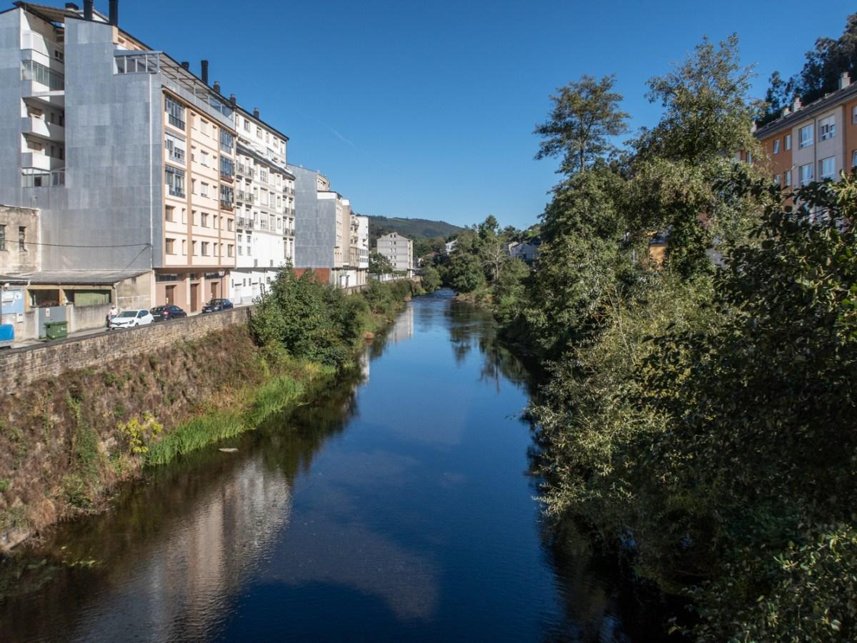 River Eo in Pontenova