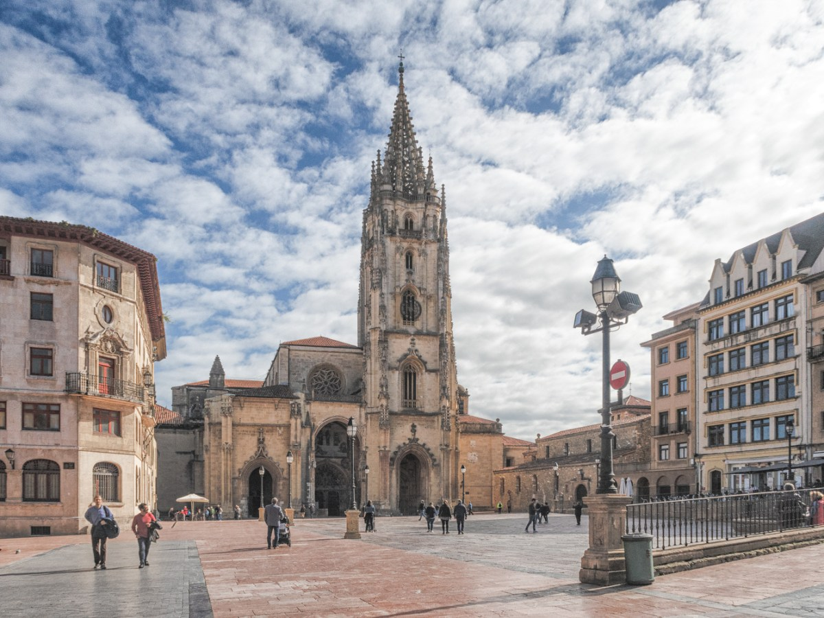 Cathedral of San Salvador in Oviedo