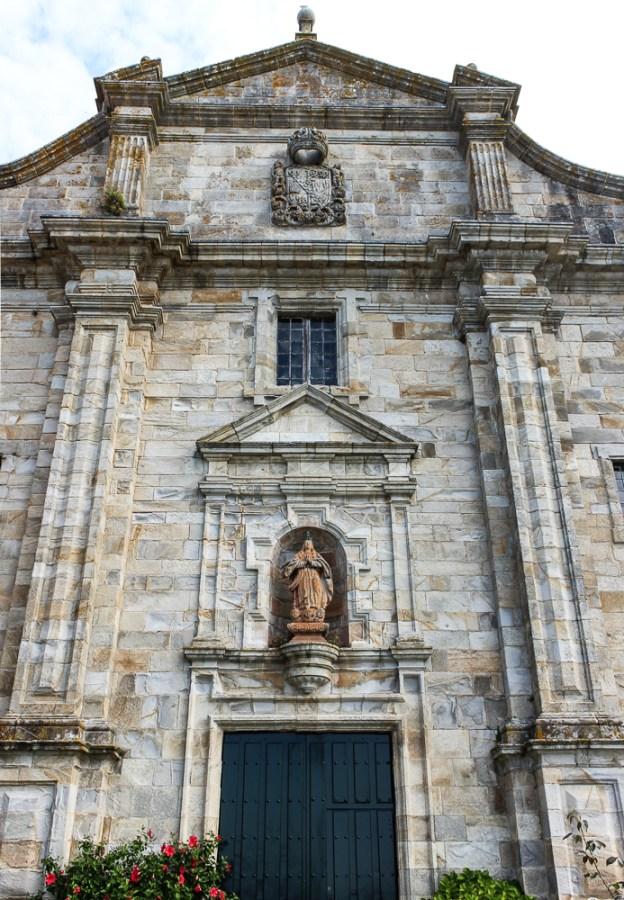 Facade of the Monastery of Santa Maria at Oia