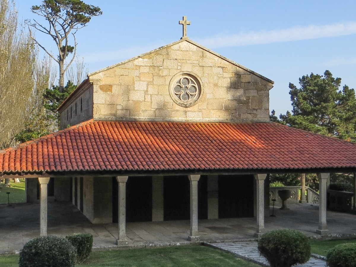 Chapel in the gardens of the Parador in Baiona