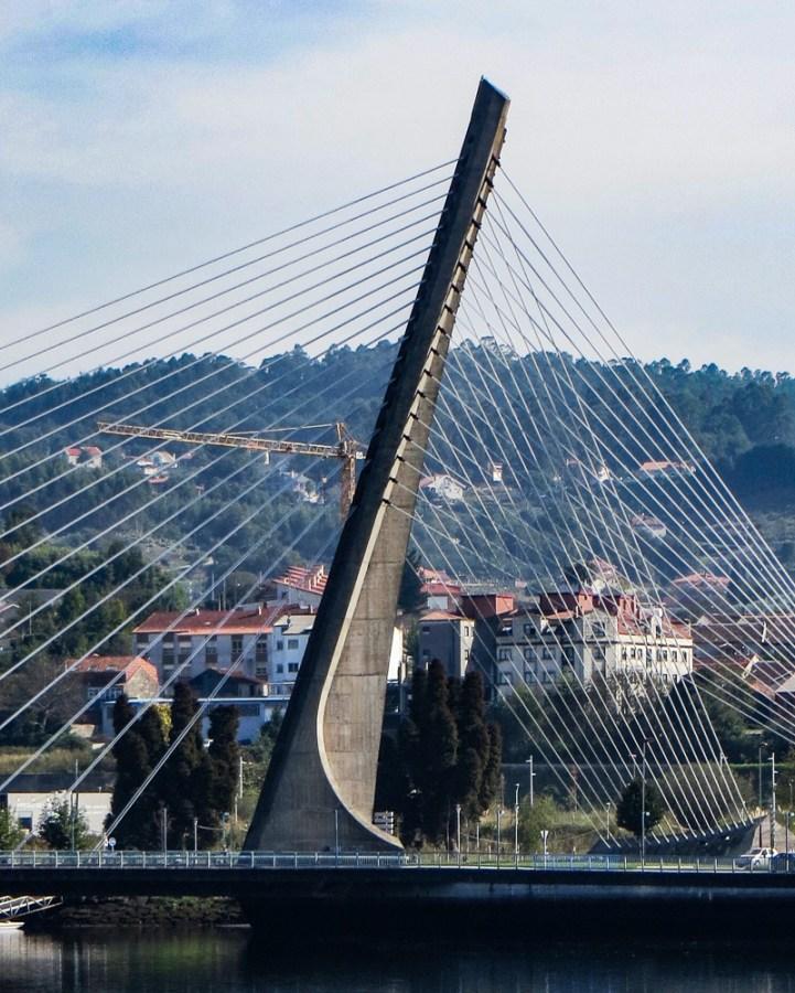 Calatrava Bridge in Pontevedra
