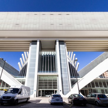 The Calatrava Building in Oviedo