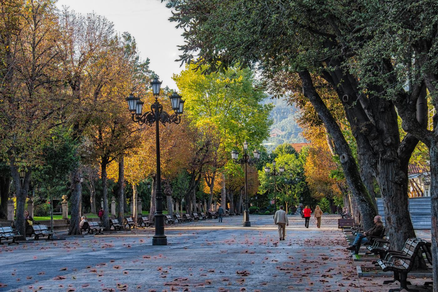 Park of San Francisco, Oviedo