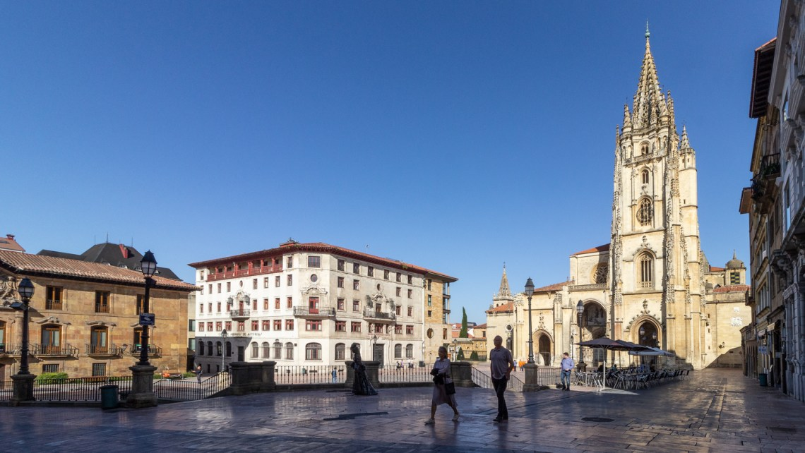Cathedral Square in Oviedo