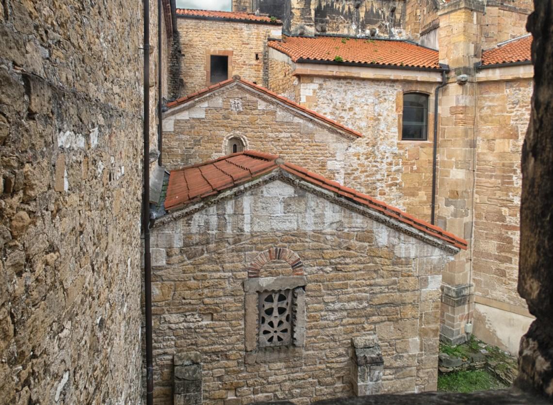 Exterior of the Camara Santa