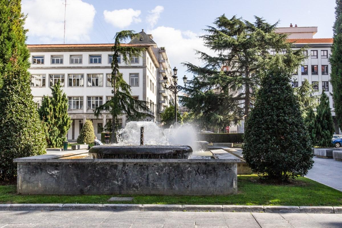 Fountains in the Plaza de Espana