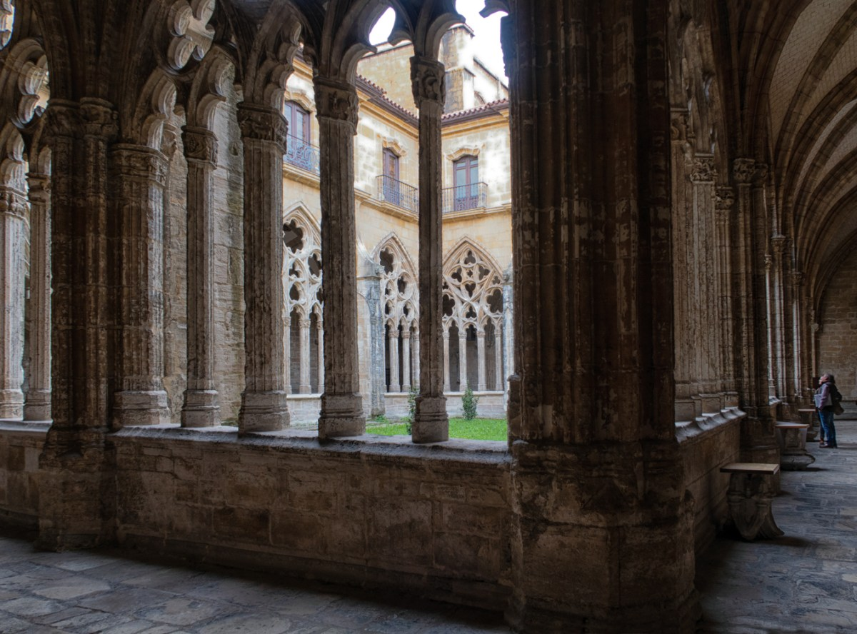 Cloister of the Cathedral in Oviedo